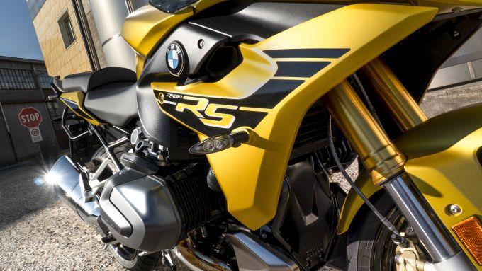 BMW R 1250 RS: primo piano del motore Boxer