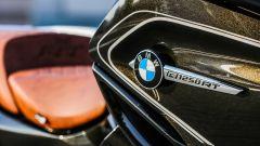 BMW R 1250 RT: dettaglio del fianchetto destro
