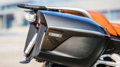 BMW R 1250 RT: dettaglio delle valigie