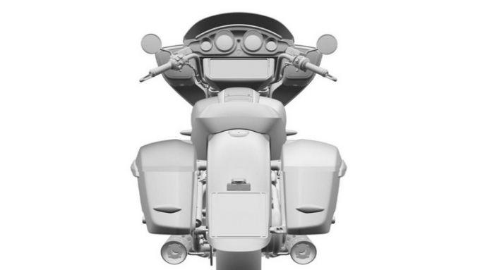 BMW R 18 B 2022: la Bagger da dietro