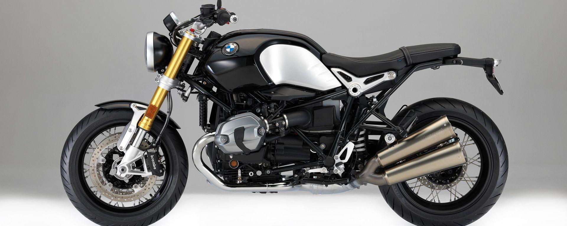 BMW R nineT 2017, la roadster dell'Elica si aggiorna