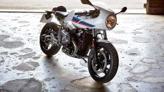 BMW R nineT Racer, il trequarti anteriore