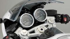 BMW R nineT Racer, la strumentazione special