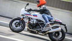BMW R nineT Racer: vista laterale