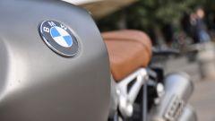 BMW R nineT Scrambler, serbatoio in acciaio