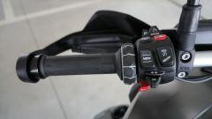 BMW R1200GS Connectivity: il blocchetto sinistro contiene la maggior parte dei comandi