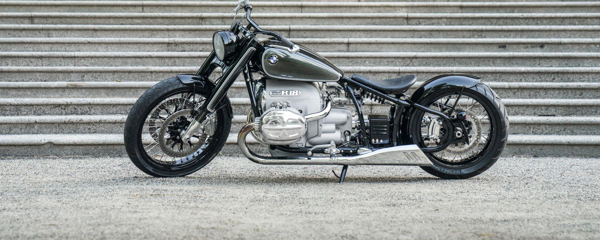 BMW R18: il concept della moto con motore da 1.802 cc