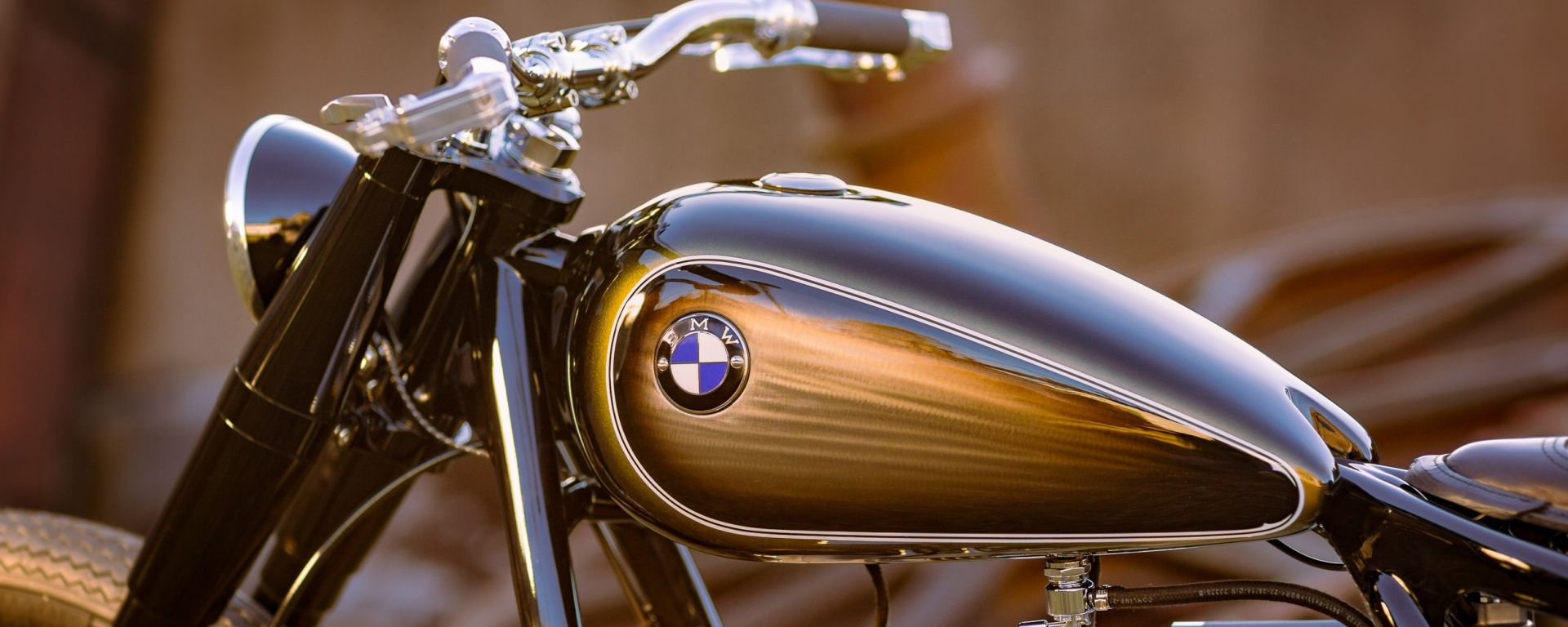 BMW R5 Hommage: guest star a Villa d'Este