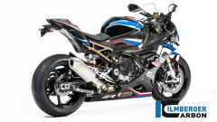 BMW S 1000 RR 2019 Ilmberger Carbon, vista 3/4 posteriore