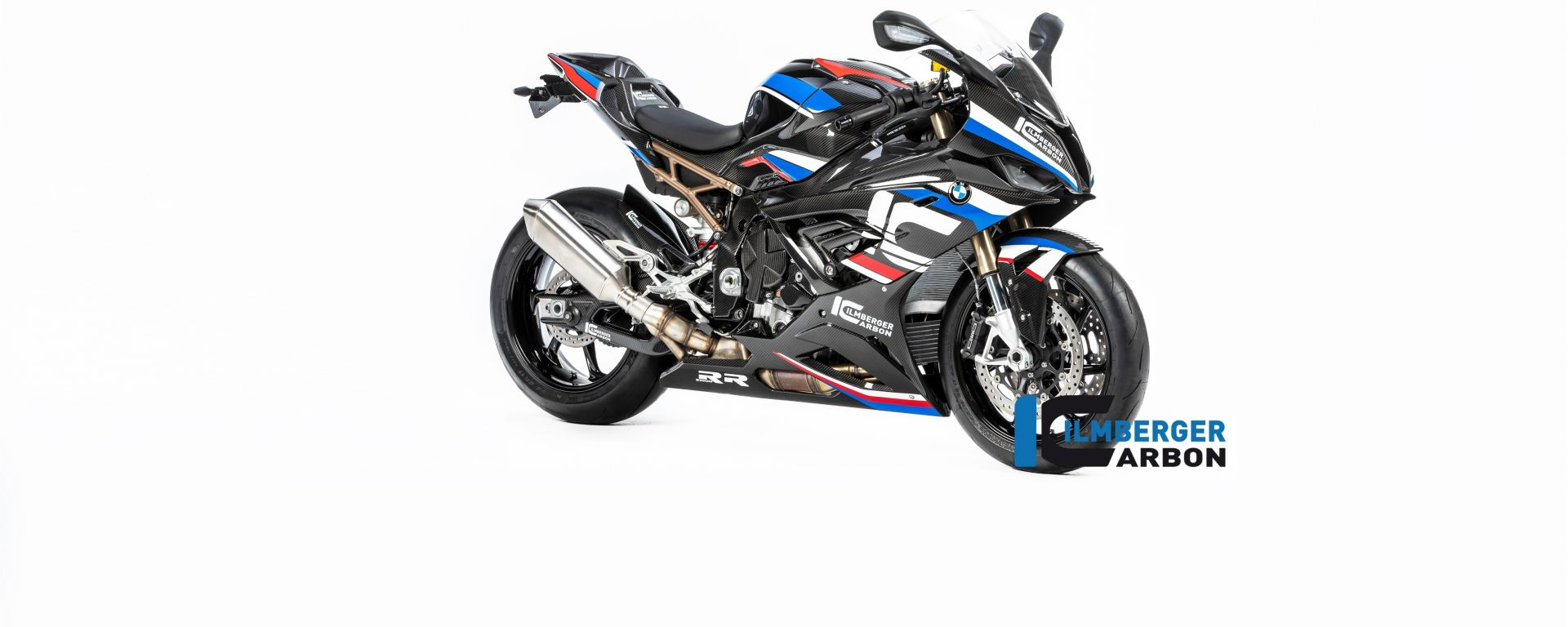 BMW S 1000 RR 2019 stradale con parti speciali Ilmberger Carbon