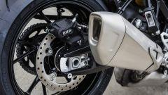 BMW S 1000 XR: dettaglio dello scarico