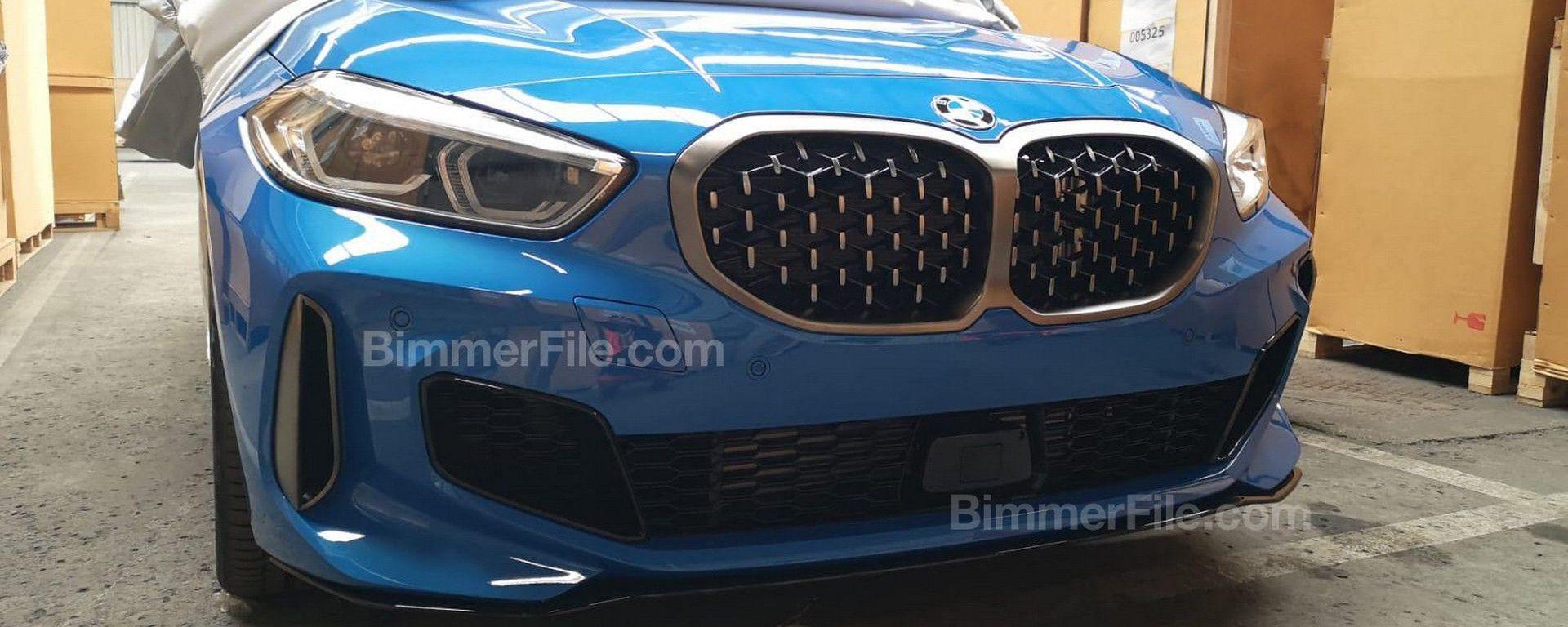BMW Serie 1 2019, prime foto spia