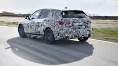 BMW Serie 1 2019 vista 3/4 posteriore