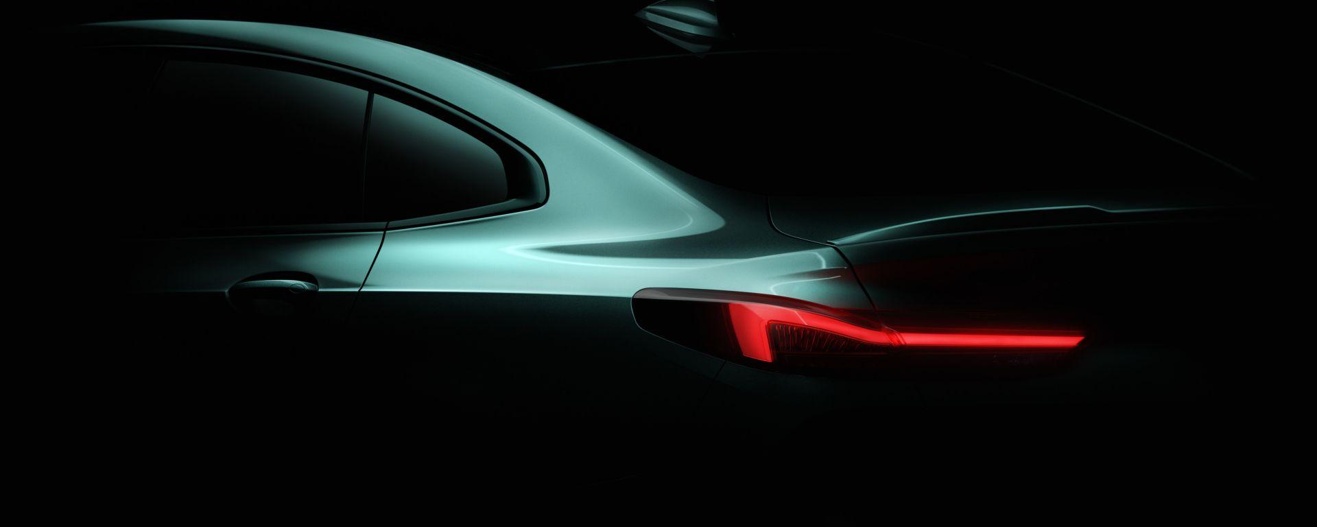 BMW Serie 2 Gran Coupé 2020, primo teaser