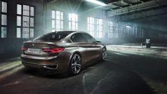 BMW Serie 2 Gran Coupé; 3/4 posteriore della concept