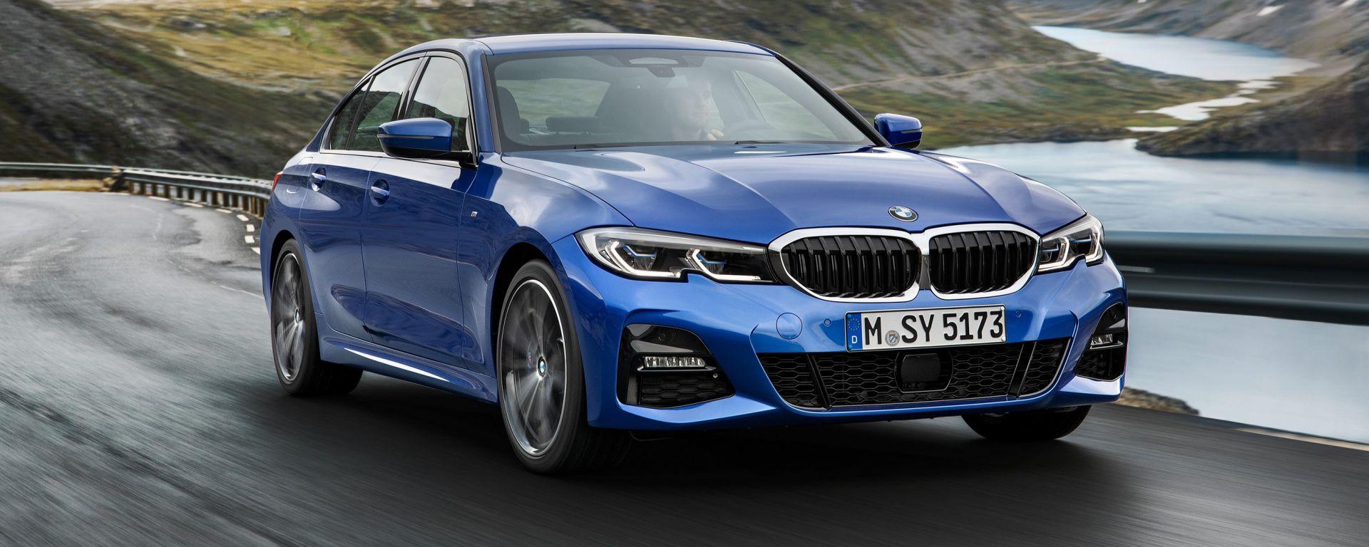 BMW Serie 3 320d Msport: la prova su strada