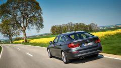 BMW Serie 3 GT: cambia anche il disegno del posteriore, con i nuovi gruppi ottici a LED