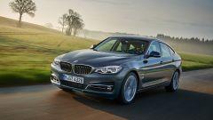 BMW Serie 3 GT: il frontale riprende il design della versione berlina