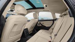 BMW Serie 3 GT: lo spazio per i passeggeri posteriori non manca