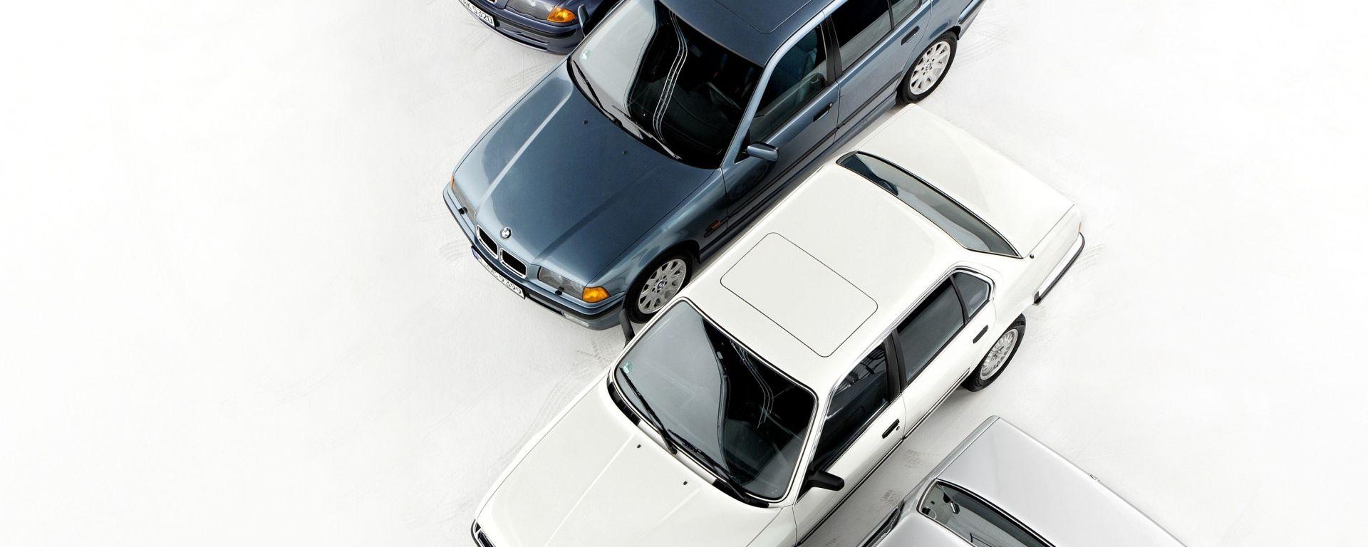 BMW Serie 3: i suoi primi 40 anni