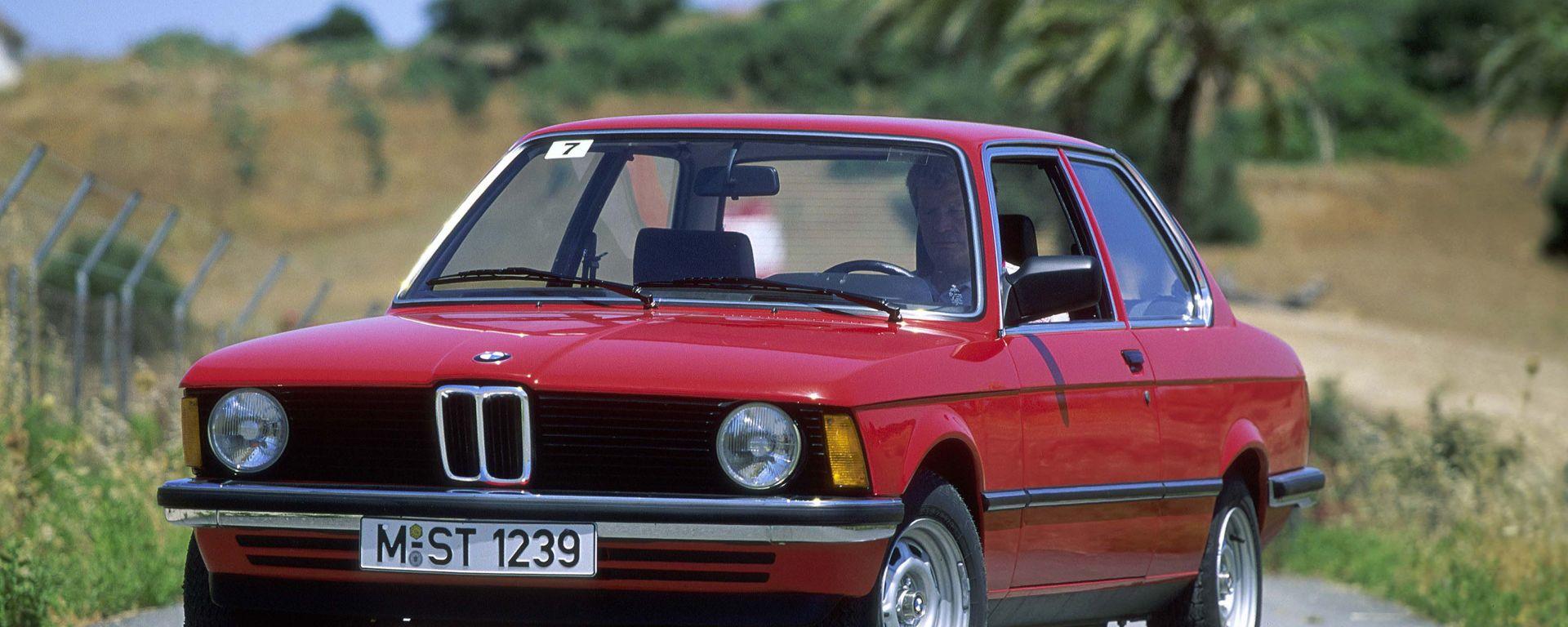 BMW Serie 3: le prime cinque generazioni