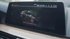 BMW Serie 3 mild hybrid, il funzionamento del sistema proiettato sul display di bordo