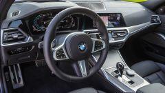 BMW Serie 3 MSport 320d: gli interni