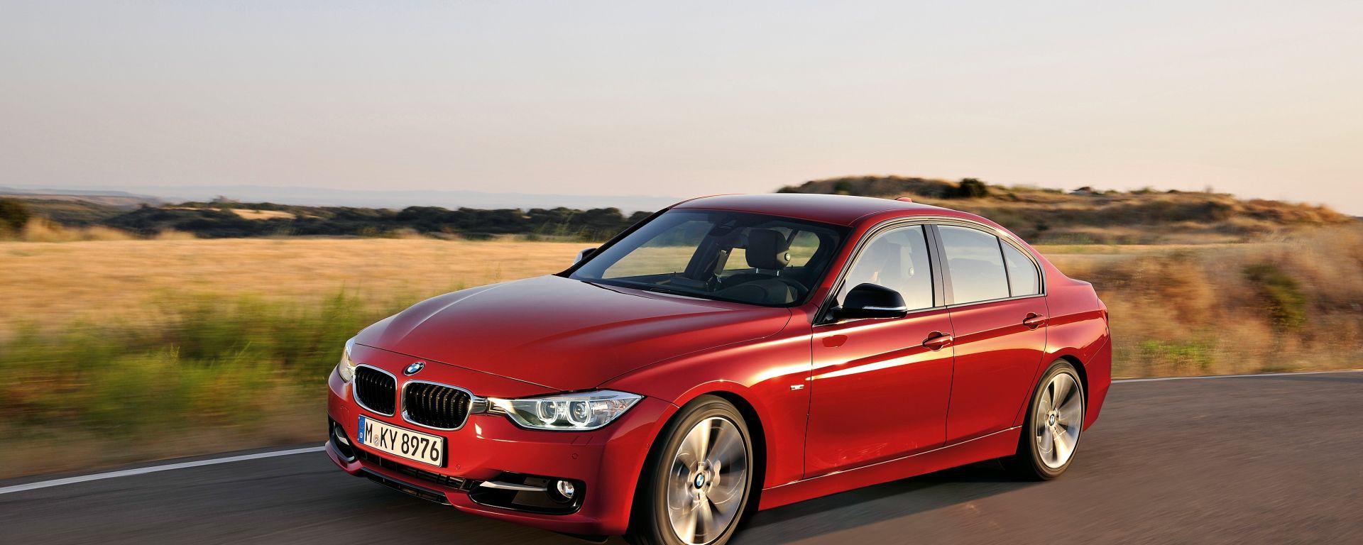 BMW Serie 3 2012, primi dettagli e foto in HD