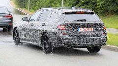 BMW Serie 3 Touring 2019, il bagagliaio