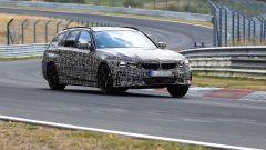 BMW Serie 3 Touring 2019: le foto spia al Nurburgring