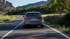 BMW Serie 3 Touring: il posteriore