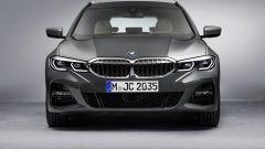 BMW Serie 3 Touring: l'anteriore