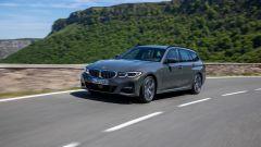 BMW Serie 3 Touring: vista 3/4 anteriore