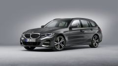 BMW Serie 3 Touring: vista frontale