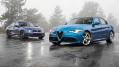 BMW Serie 3 vs Alfa Romeo Giulia, scontro tra regine di categoria