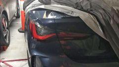 BMW Serie 4 2020, il faro posteriore