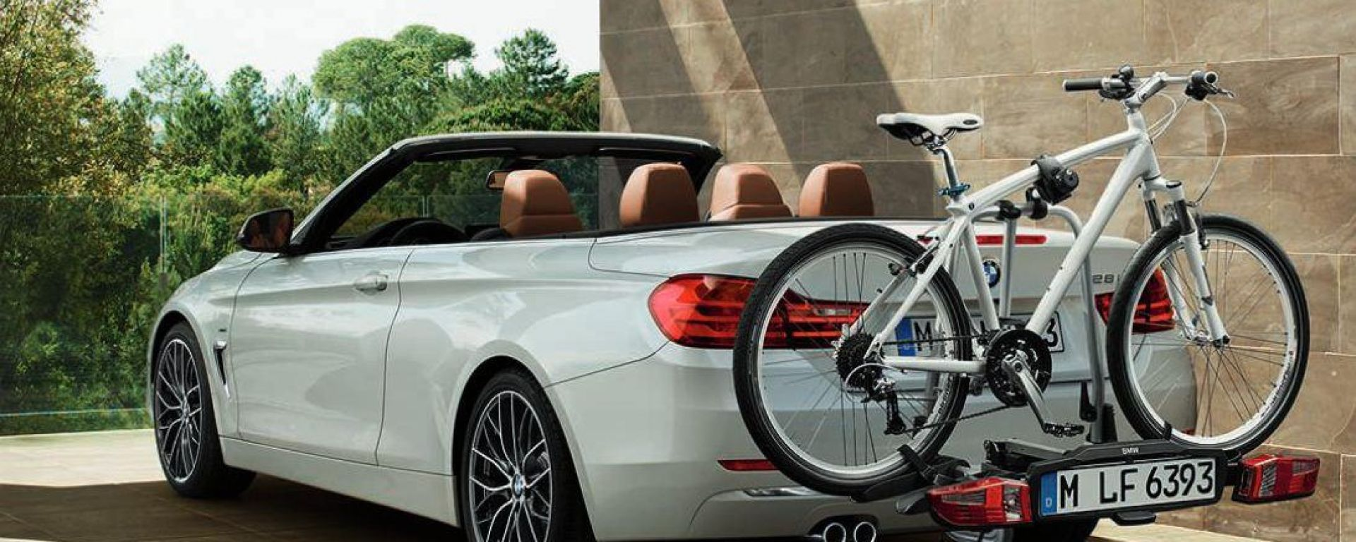 "BMW Serie 4 Cabriolet: le foto ""rubate"""