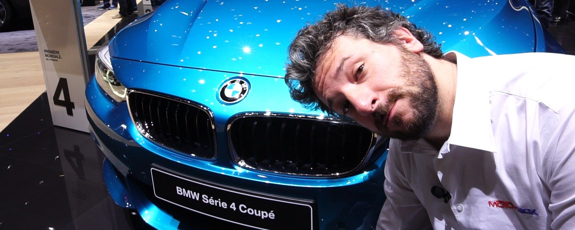 BMW Serie 4 Coupé 2017, Salone di Ginevra 2017, live dallo stand