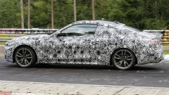 BMW Serie 4 Coupé 2020, foto spia dal 'Ring
