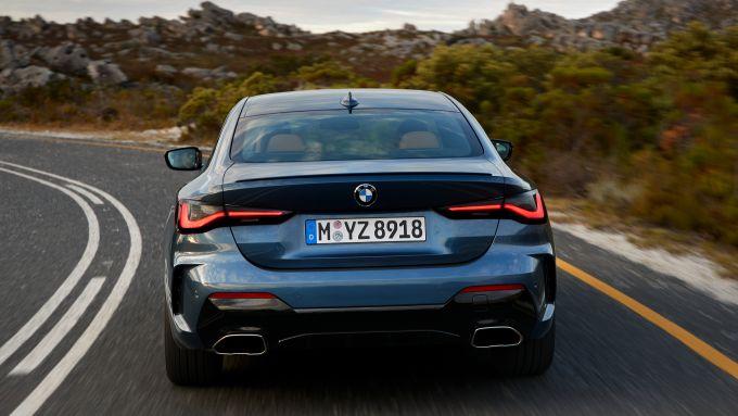 BMW Serie 4 Coupé 2020, il posteriore