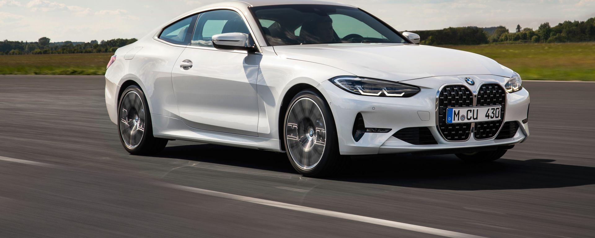 BMW Serie 4 Coupé, da marzo 2021 anche in formato M440d xDrive