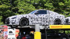 BMW Serie 4 Coupé, le foto spia: la fiancata