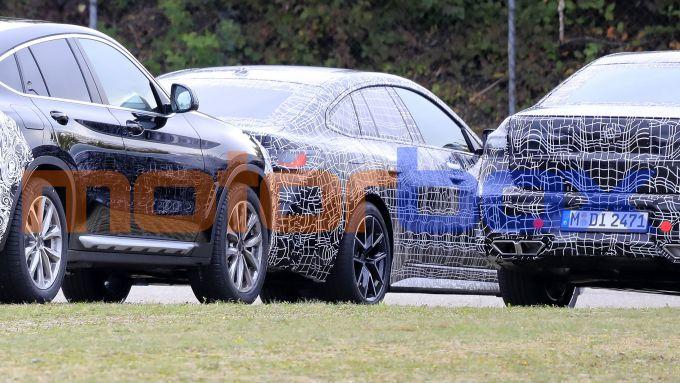 BMW Serie 4 GranCoupé: le foto spia del muletto di prova