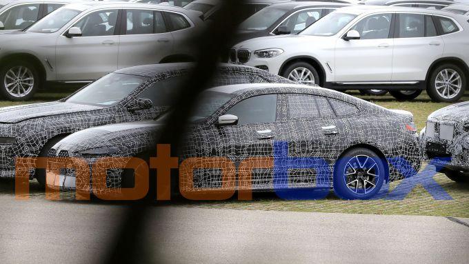 BMW Serie 4 GranCoupé: visuale laterale