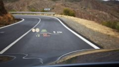 BMW Serie 5 2017: il nuovo head up display