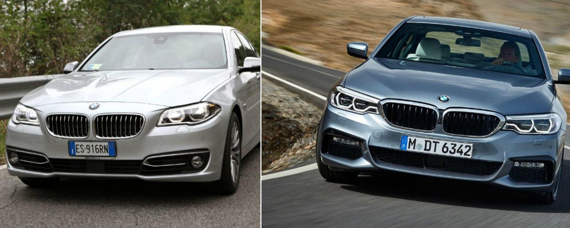 BMW Serie 5 2017: quanto è nuova la settima generazione?