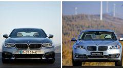 BMW Serie 5 2017 vs BMW Serie 5 fine serie