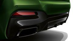 BMW Serie 5 2020 M550: gli scarichi sportivi