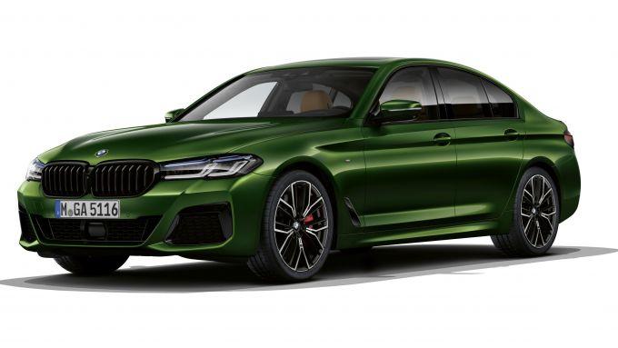 BMW Serie 5 2020 M550: la più sportiva