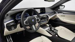 BMW Serie 5 2020 Sedan: gli interni